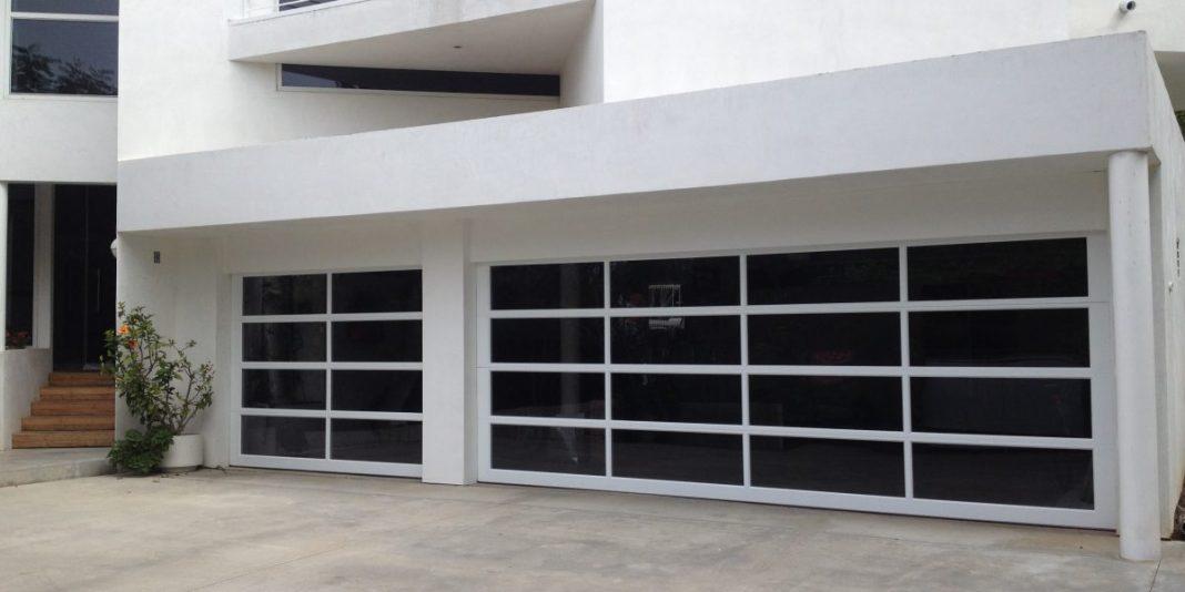 glass garage doors pricing